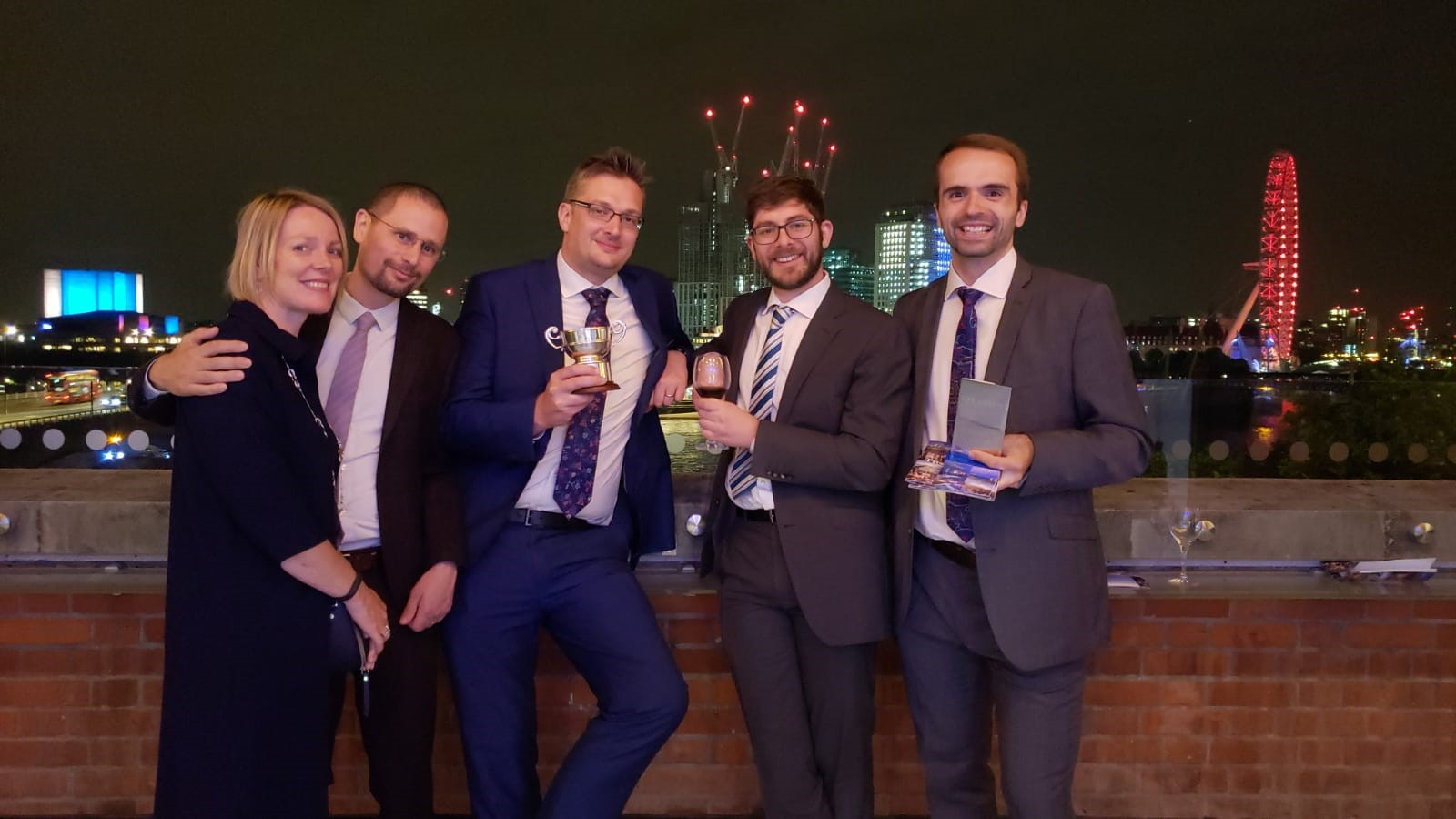 Winners at planning awards